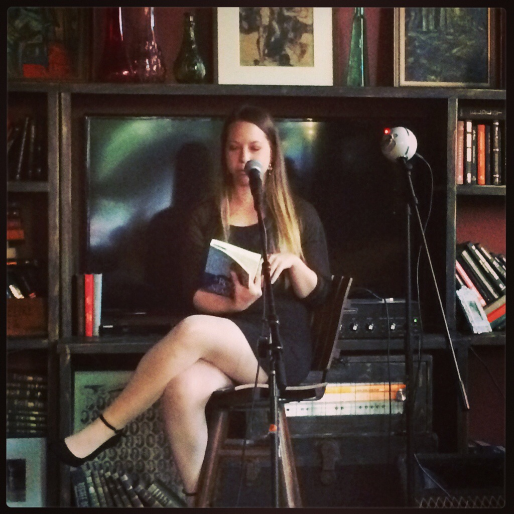 "Sarah Lindsey reading from her historical novel ""A Rogue for All Seasons"""