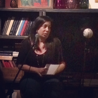 "Elena Dillon reading from her young adult novel ""Breathe""."
