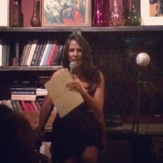 "Jewell Quinlan reading from her contemporary novel ""Stealing Cupid's Bow"""