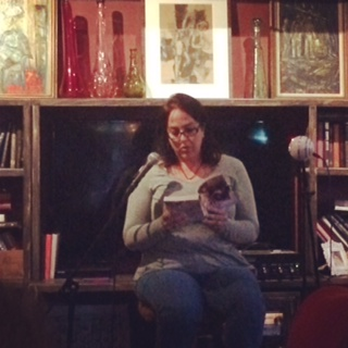 "Brenna Aubrey reading from her new adult novel ""At Any Price"""