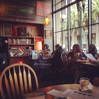 The Gypsy Den Alt Cafe in Ananheim, CA. First home of Lady Jane's Salon Orange County.